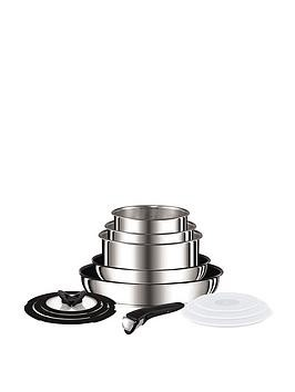 Save £60 at Very on Tefal Ingenio 13-Piece Saucepan Set - Stainless Steel