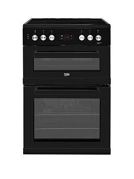 Save £40 at Very on Beko Kdc653K 60Cm Electric Cooker With Ceramic Hob - Black