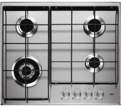 Save £40 at Currys on AEG HG644351SM Gas Hob - Stainless Steel, Stainless Steel