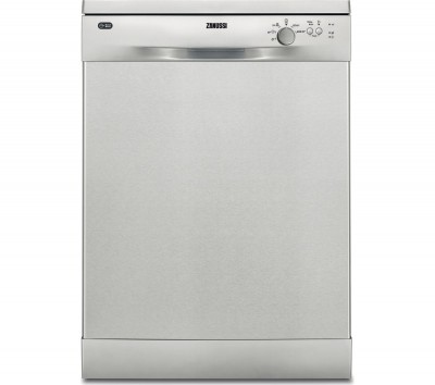 Save £40 at Currys on ZANUSSI ZDF22002XA Full-size Dishwasher - Stainless Steel, Stainless Steel