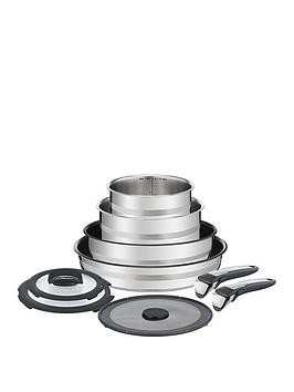 Save £37 at Very on Tefal Ingenio Jamie Oliver 9 Piece Pan Set
