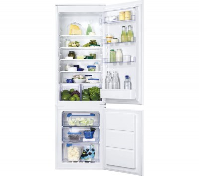 Save £100 at Currys on ZANUSSI ZBB28651SV Integrated 50/50 Fridge Freezer