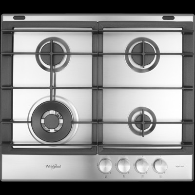 Save £30 at AO on Whirlpool W Collection GMW6422/IXL 59cm Gas Hob - Stainless Steel