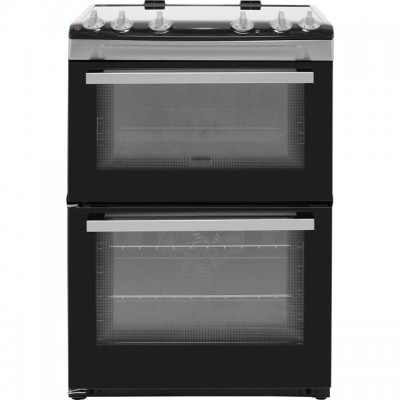 Save £60 at AO on Zanussi ZCV66050XA 60cm Electric Cooker with Ceramic Hob - Stainless Steel - A/A Rated