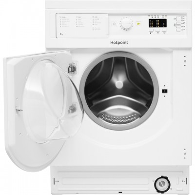 Save £50 at AO on Hotpoint BIWMHL71453UK Integrated 7Kg Washing Machine with 1400 rpm - A+++ Rated