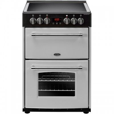 Save £80 at AO on Belling Farmhouse60E 60cm Electric Cooker with Ceramic Hob - Silver - A/A Rated