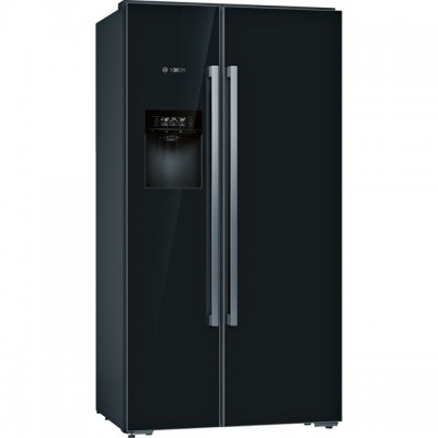 Save £656 at AO on Bosch Serie 8 KAD92HBFP Wifi Connected American Fridge Freezer - Black - A++ Rated