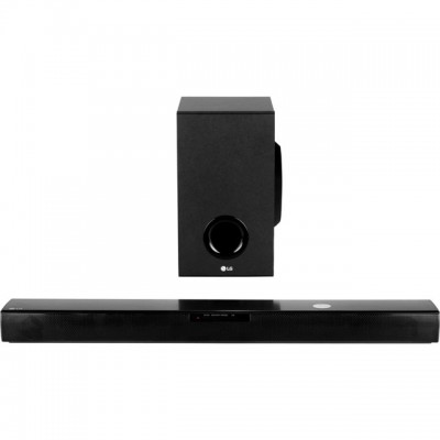 Save £23 at AO on LG SJ2 Bluetooth Soundbar with Wireless Subwoofer - Black