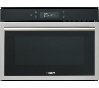 Save £135 at Currys on HOTPOINT MP 676 IX H Built-in Combination Microwave - Stainless Steel, Stainless Steel