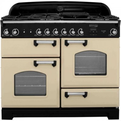 Save £220 at AO on Rangemaster Classic CLA110NGFCR/C 110cm Gas Range Cooker - Cream / Chrome - A+/A+ Rated