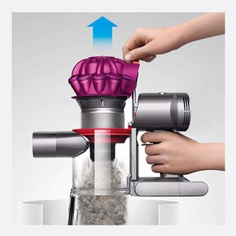 Save £50 at Sonic Direct on Dyson V7MOTORHEAD Motorhead Cordless Bagless Vacuum Cleaner in Fuscia