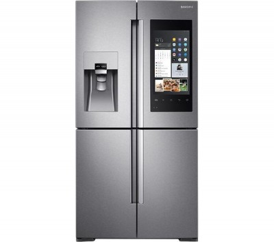 Save £280 at Currys on SAMSUNG Family Hub American-Style Smart Fridge Freezer Real Stainless RF56M9540SR/EU