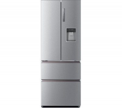 Save £78 at Currys on HAIER Slim American Style Fridge Freezer HB16WMAA 60/40 - Stainless Steel, Stainless Steel