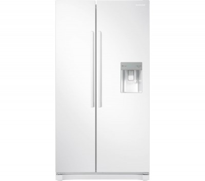 Save £220 at Currys on SAMSUNG American-Style Fridge Freezer White RS52N3313WW, White