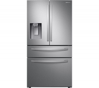 Save £400 at Currys on RF22R7351SR/EU Smart Fridge Freezer - Real Stainless, Cream