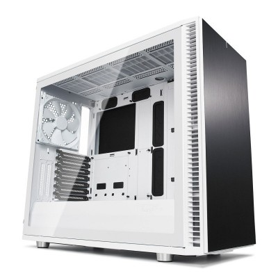 Save £18 at Ebuyer on Fractal Define S2 White Tempered Glass Midi PC Gaming Case