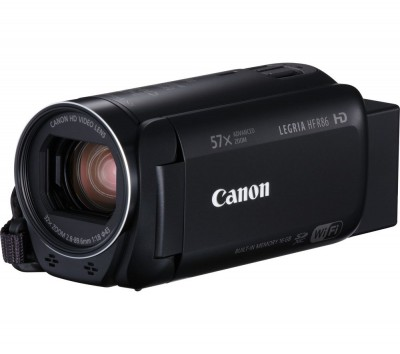Save £50 at Currys on CANON LEGRIA HF R86 Camcorder - Black, Black