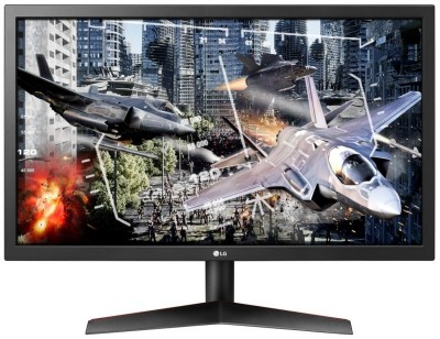 Save £46 at Ebuyer on LG UltraGear 24GL600F 24 Full HD 144Hz 1ms Gaming Monitor