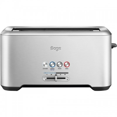 Save £11 at AO on Sage The Bit More 4 Slice BTA730UK 4 Slice Toaster - Stainless Steel