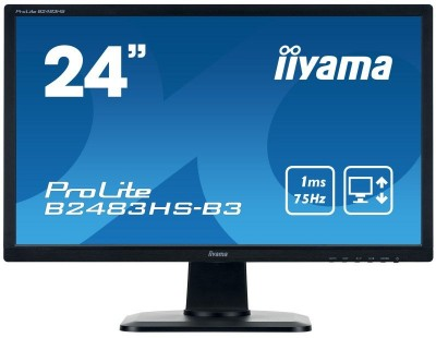 Save £18 at Ebuyer on Iiyama ProLite B2483HS-B3 24 Full HD 1ms LED Monitor