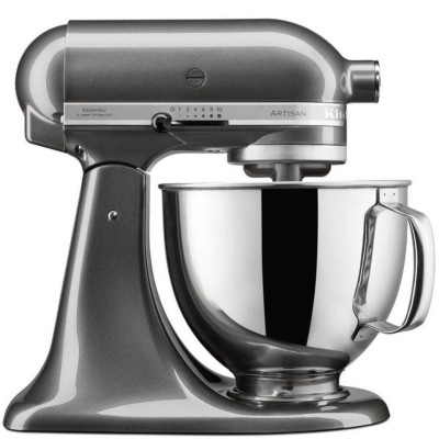 Save £100 at PRCDirect on KitchenAid 5KSM125BQG 4.8 Litre Artisan Stand Mixer, Liquid Graphite