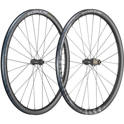 Save £200 at Wiggle on Token Roubx Disc Gravel Carbon Wheelset Wheel Sets
