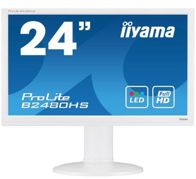 Save £45 at Ebuyer on Iiyama Prolite B2480HS-W2 24 Full HD LED Monitor