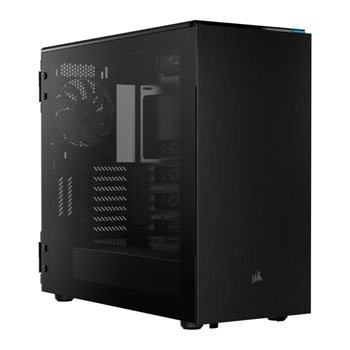 Save £25 at Scan on Corsair Carbide 678C Black Quiet Glass Midi PC Gaming Case