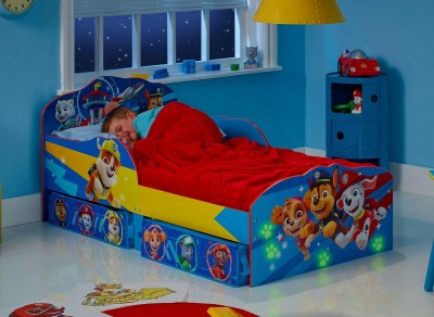 Save £30 at Dreams on Paw Patrol Toddler Bed with Storage