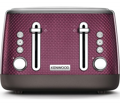Save £10 at Currys on Mesmerine TFM810PU 4-Slice Toaster - Rich Plum, Plum