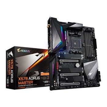 Save £48 at Scan on Gigabyte AMD Ryzen X570 AORUS MASTER AM4 PCIe 4.0 ATX Motherboard