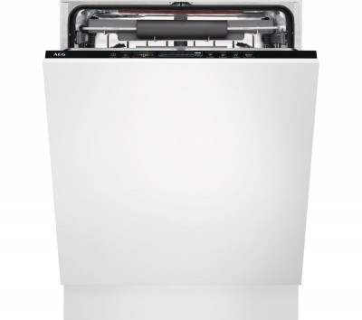 Save £80 at Currys on AEG FSB42607Z Full-size Fully Integrated Dishwasher, Red