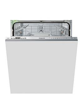 Save £50 at Very on Hotpoint Hio3T1239Weuk 14-Place Full Size Integrated Dishwasher With Quick Wash, 3D Zone Wash, Super Silent - Stainless Steel - Dishwasher Only