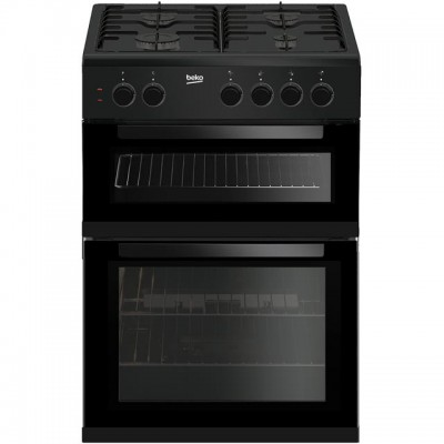 Save £40 at AO on Beko KDG611K 60cm Gas Cooker with Full Width Gas Grill - Black - A+/A Rated