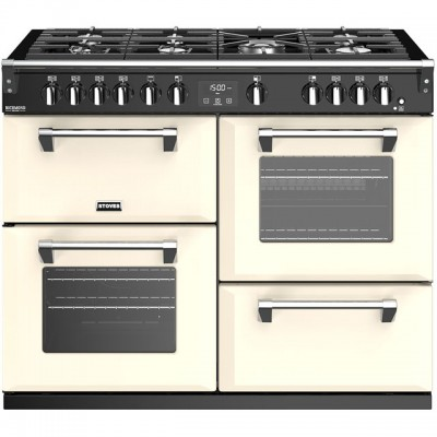 Save £300 at AO on Stoves Richmond Deluxe S1100G 110cm Gas Range Cooker with Electric Grill - Cream - A/A/A Rated