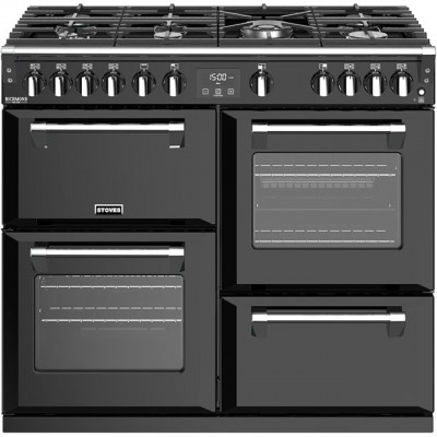 Save £700 at AO on Stoves Richmond Deluxe S1000G 100cm Gas Range Cooker with Electric Grill - Black - A+/A/A Rated