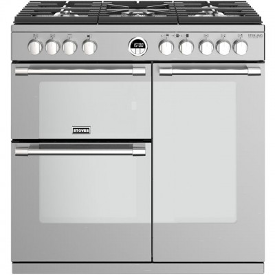 Save £320 at AO on Stoves Sterling Deluxe S900G 90cm Gas Range Cooker - Stainless Steel - A/A Rated