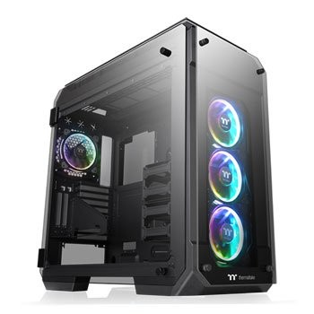 Save £60 at Scan on Thermaltake View 71 Tempered Glass RGB Plus Full Tower PC Case