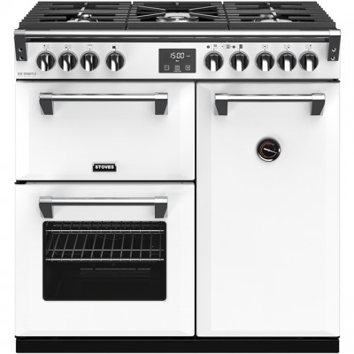 Save £270 at AO on Stoves Colour Boutique Collection Richmond Deluxe S900G CB 90cm Gas Range Cooker - Icy Brook - A/A/A Rated