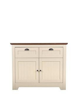 Save £30 at Very on Devon Compact Sideboard - Ivory/Walnut Effect