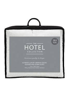Save £30 at Very on Hotel Collection Ultimate Luxury Siberian Goose Down 10.5 Tog Duvet