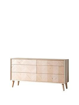 Save £100 at Very on Hudson Living Milano 6 Drawer Sideboard