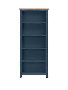Save £50 at Very on Julian Bowen Richmond Ready Assembled Bookcase - Midnight Blue