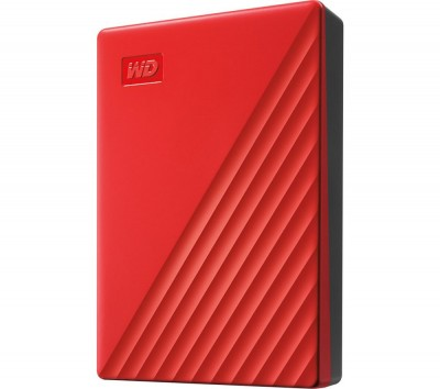 Save £21 at Currys on My Passport Portable Hard Drive - 4 TB, Red, Red