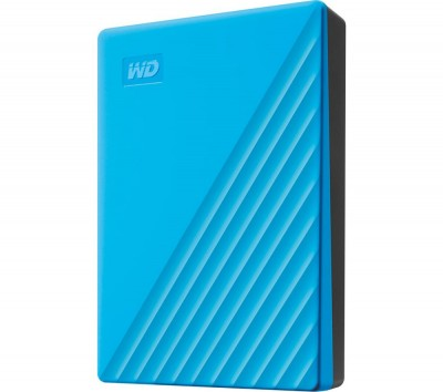 Save £21 at Currys on My Passport Portable Hard Drive - 4 TB, Blue, Blue