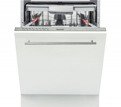 Save £50 at Currys on SHARP QW-GD54R443X-EN Full-size Fully Integrated Dishwasher