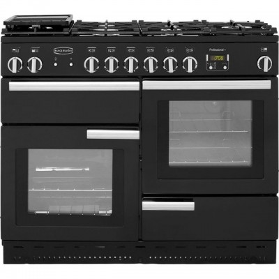 Save £310 at AO on Rangemaster Professional Plus PROP110NGFGB/C 110cm Gas Range Cooker - Black / Chrome - A+/A+ Rated