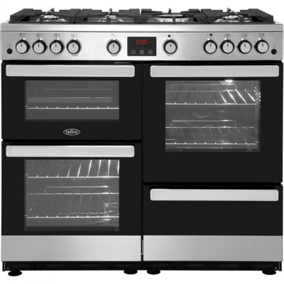 Save £120 at AO on Belling Cookcentre100G 100cm Gas Range Cooker - Stainless Steel - A/A Rated