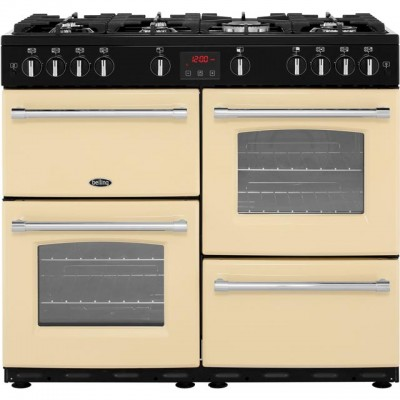 Save £123 at AO on Belling Farmhouse100G 100cm Gas Range Cooker - Cream - A/A Rated