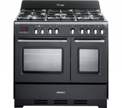 Save £251 at Currys on KENWOOD CK425-AN-1 90 cm Dual Fuel Range Cooker - Anthracite & Stainless Steel, Stainless Steel